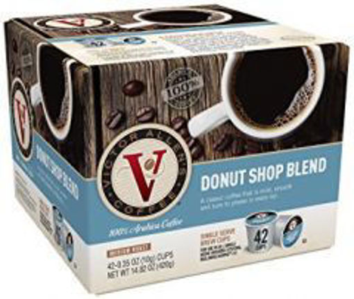 Picture of Victor Allens - Single Serve Donut Shop Coffee - 42ct