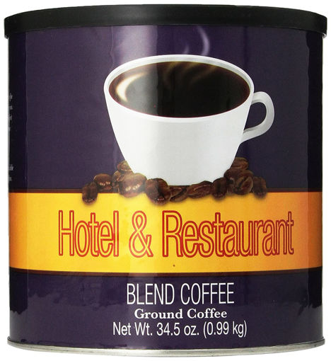 Picture of Chefs Quality Hotel & Restaurant Blend Coffee - 34.5 oz, 6/case