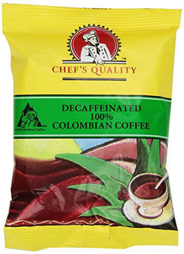 Picture of Chefs Quality - Columbian Decaffeinated Coffee - 42/2 oz Packet
