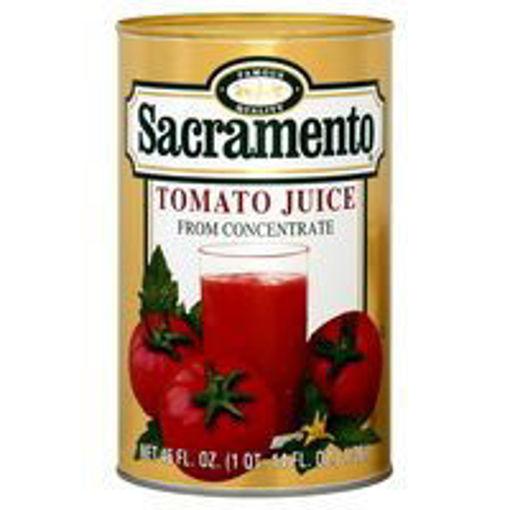 Picture of Sacramento - Tomato Juice - 46 oz cans, 12/case