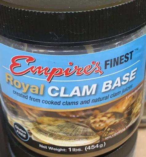Picture of Empires Finest- Clam Soup Base - 1 lb Plastic Jar, 12/case